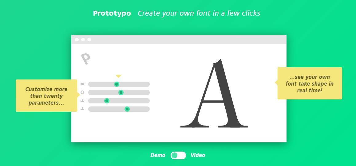 crear tipografias faciles