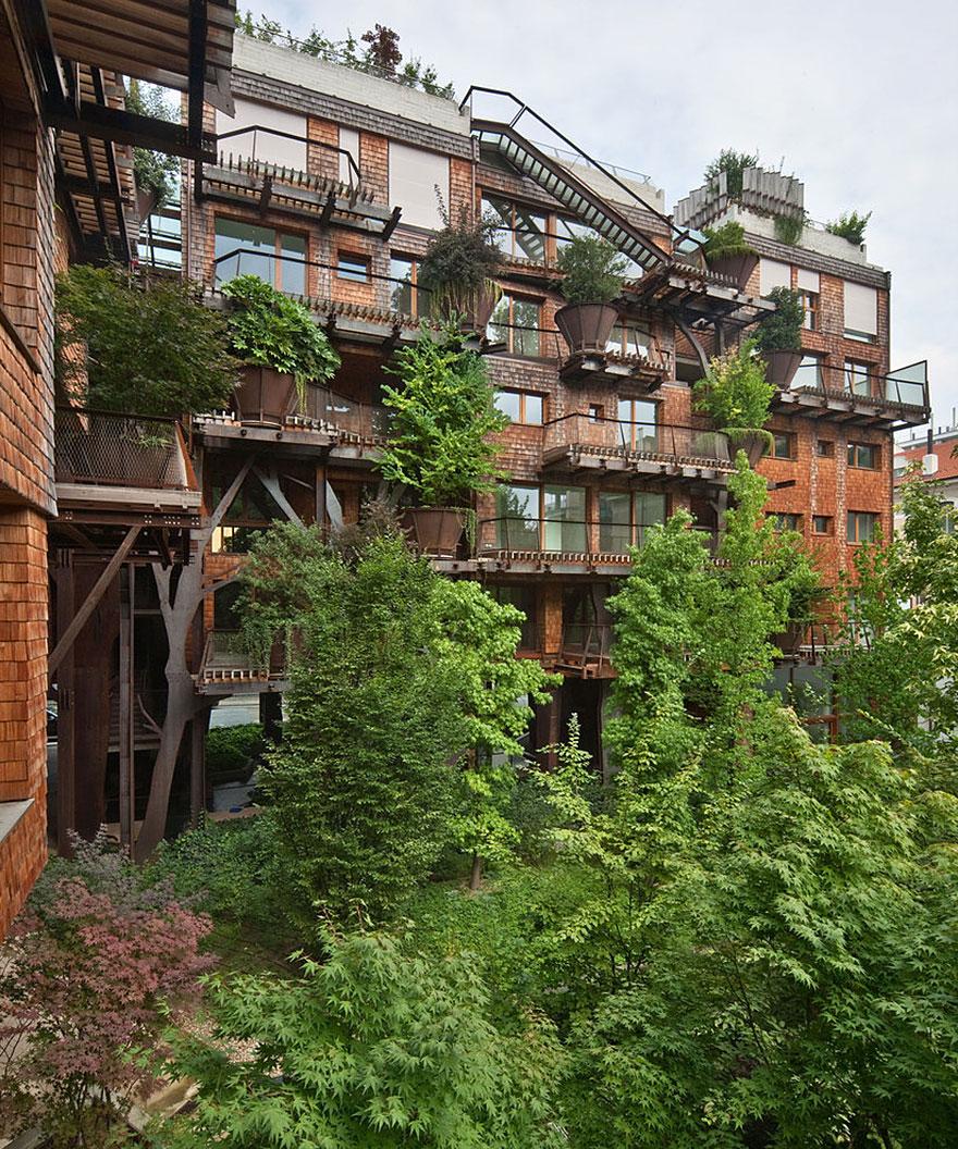 como son los edificios verdes