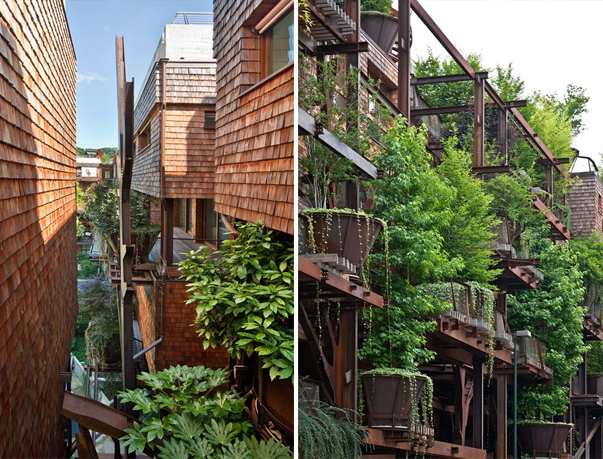 viviendas verdes