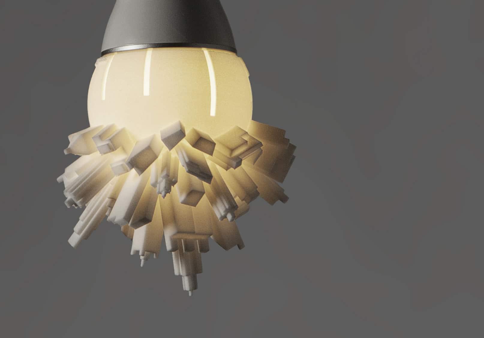 L mparas led 7 proyectos de luces leds que revolucionan - Lamparas que den mucha luz ...