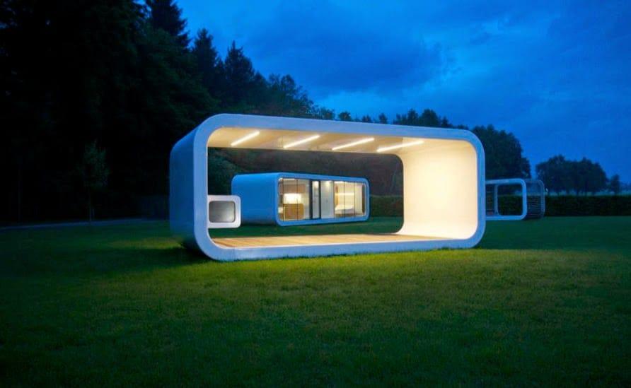 Casas prefabricadas y modulares for Modelos de construccion de casas modernas