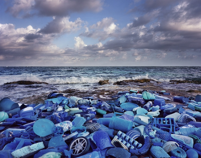 basura mar
