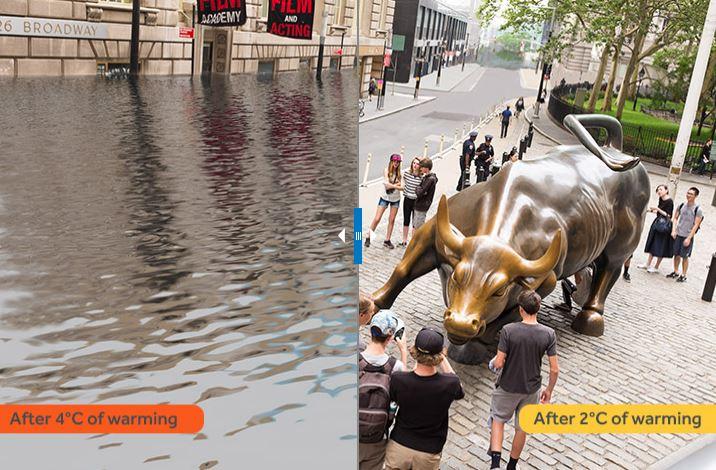cambio climatico en nueva york