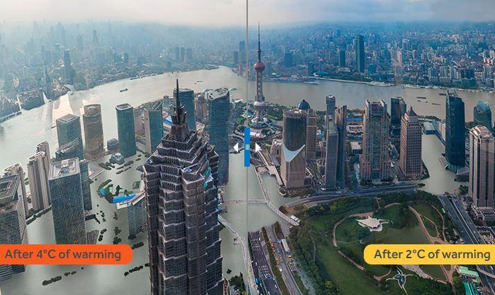 cambio climatico en shanghai