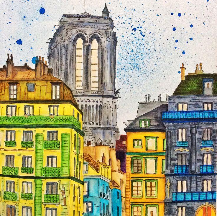 Paris Color Pages