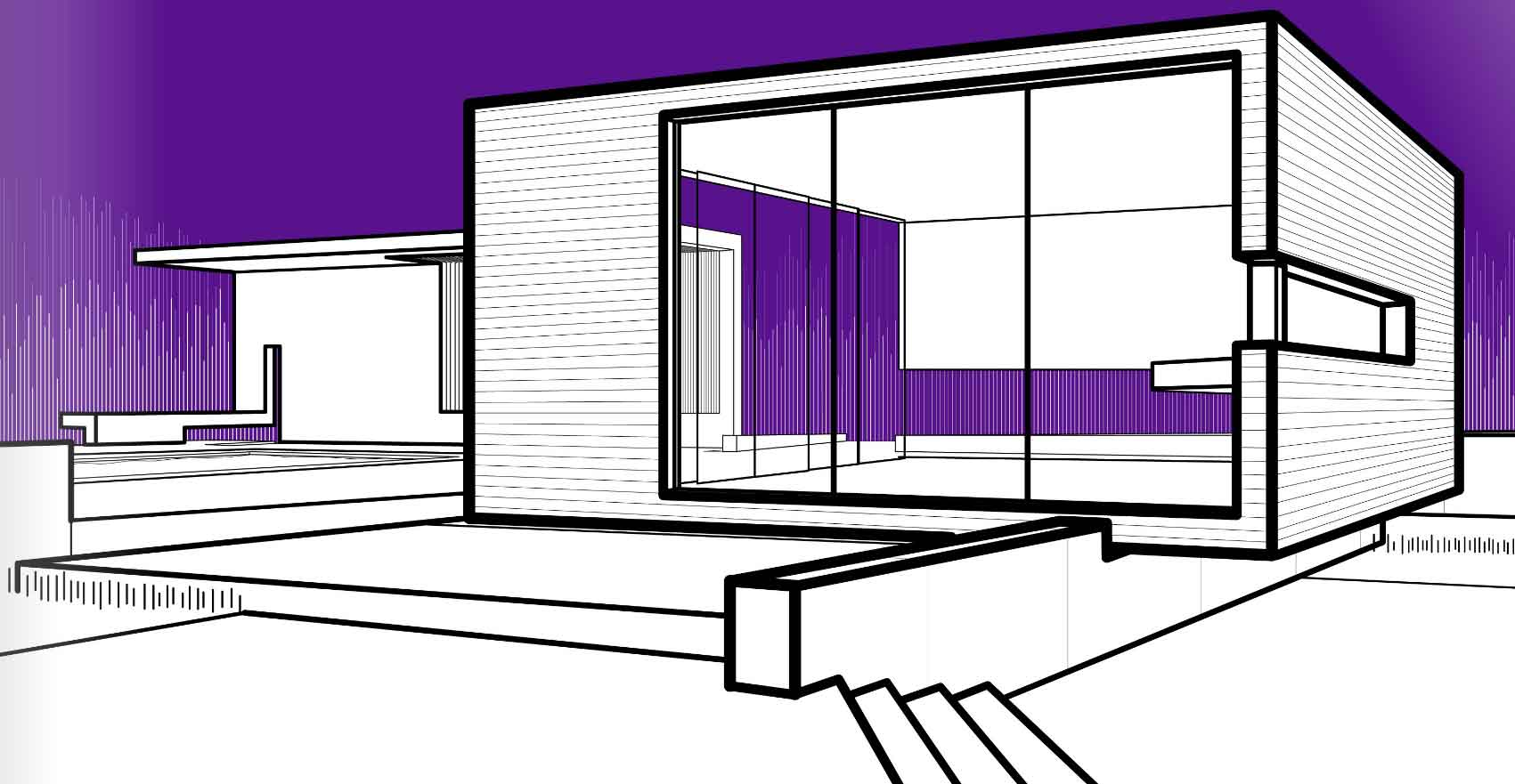 Dibujos para colorear arquitectura y algo m s for Dibujo de una oficina moderna