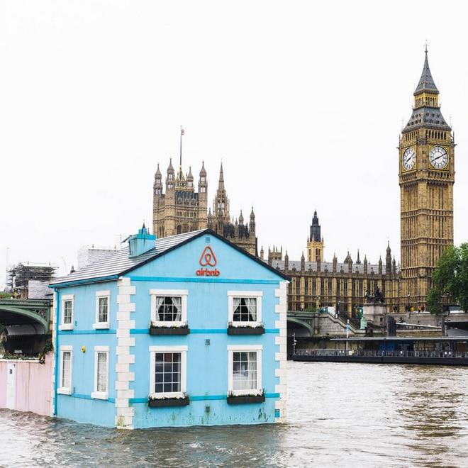 casas flotantes londres