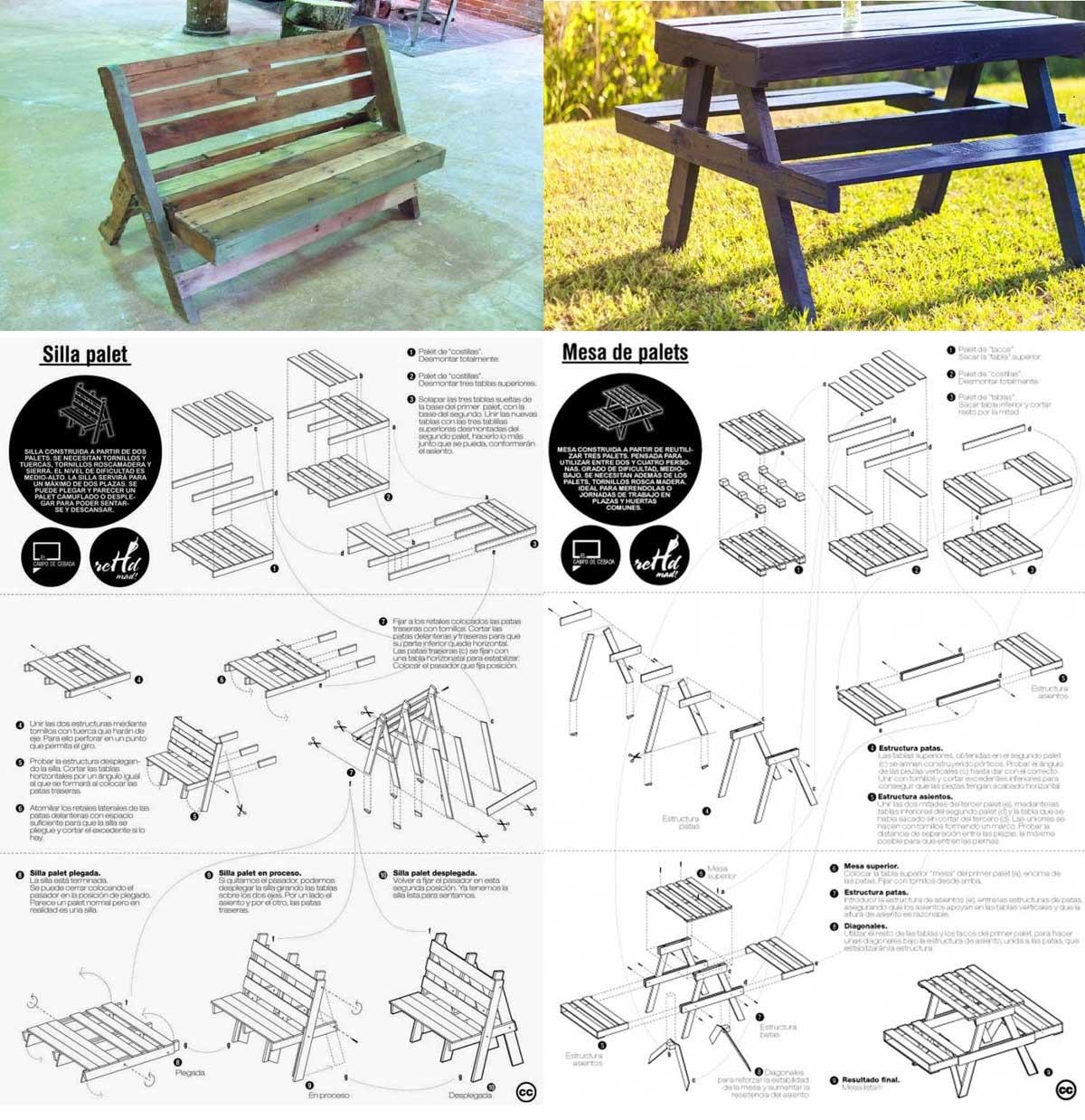 Muebles Con Palets Reciclados Algo Mas Que Una Idea Ovacen - Muebles-de-palets-paso-a-paso