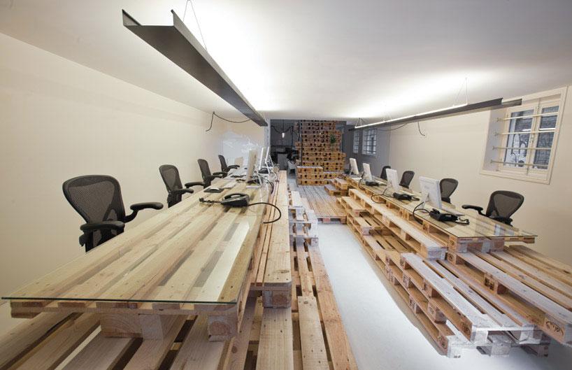 Muebles con palets reciclados algo m s que una idea ovacen Muebles hechos con estibas