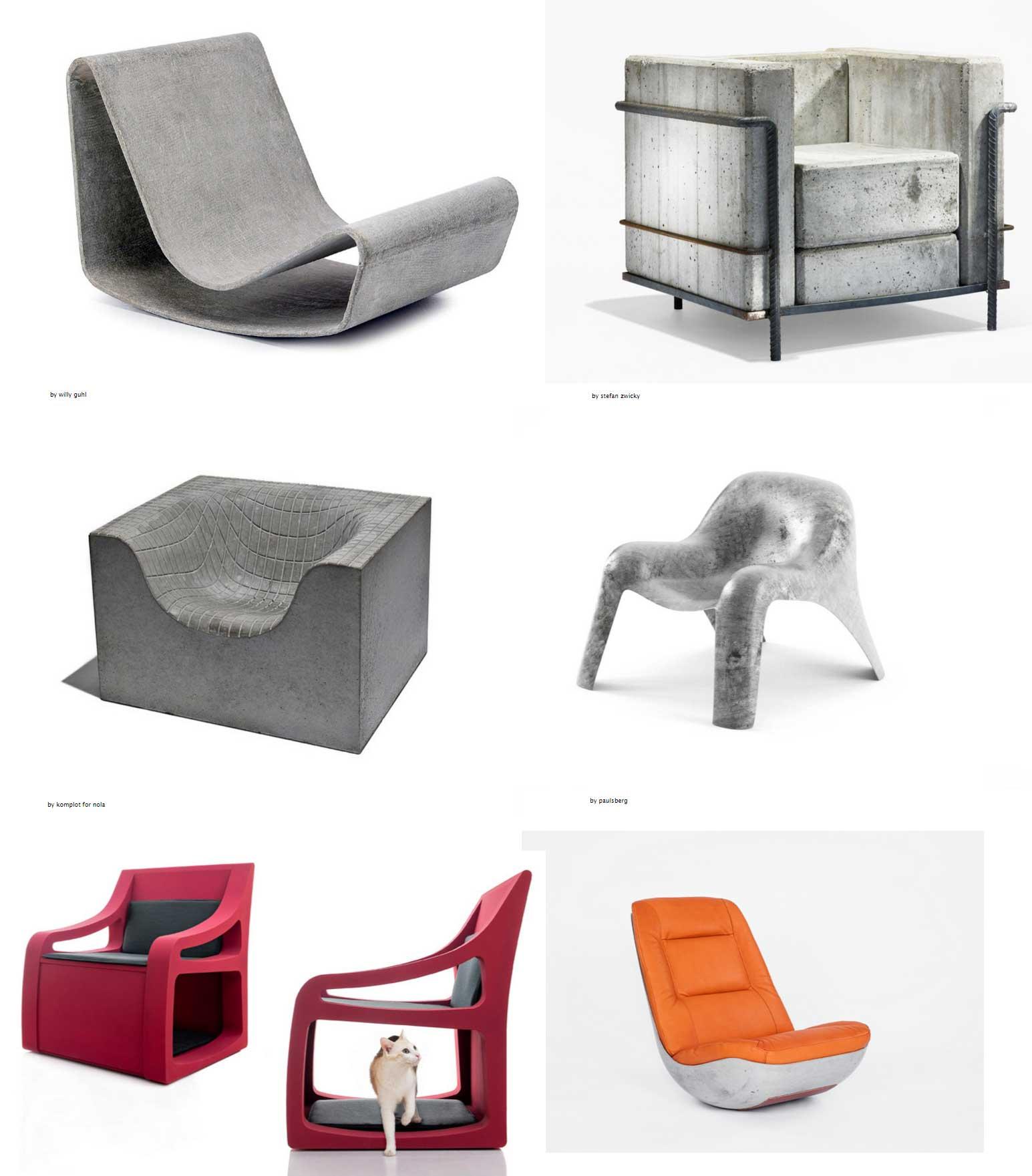 muebles hormigon