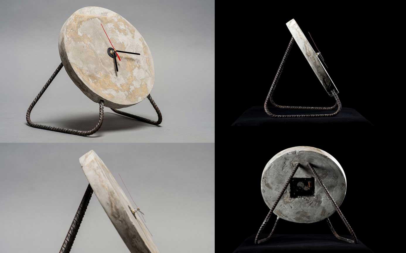 reloj de hormigon