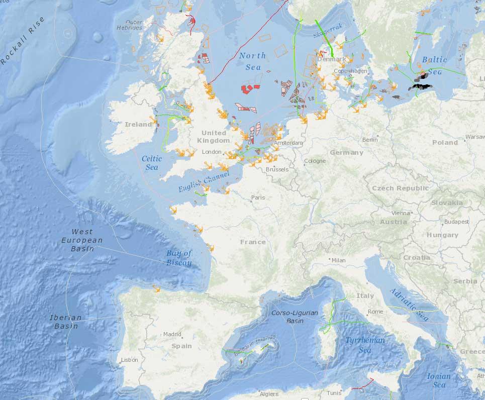 datos globales energia eólica marina