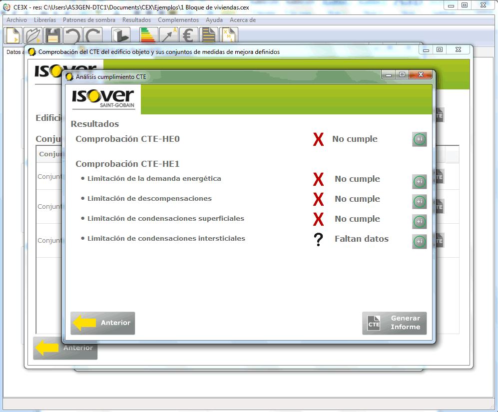 ejemplo justificacion codigo tecnico ce3x