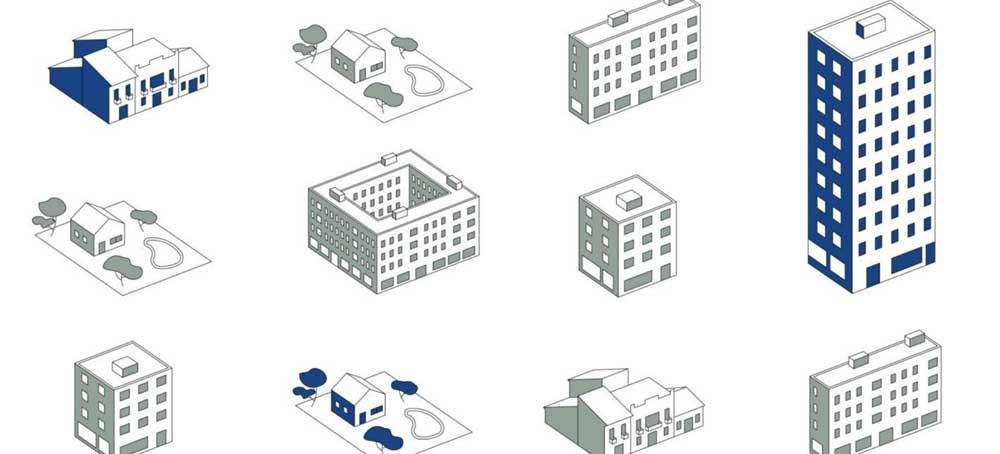 titipologia construccion edificios