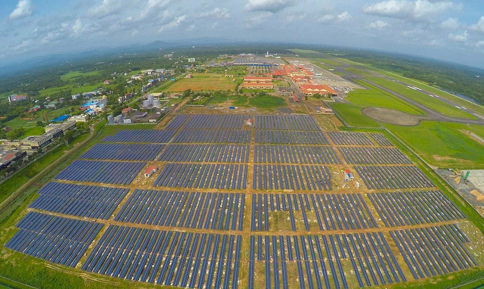 aeropuerto renovables