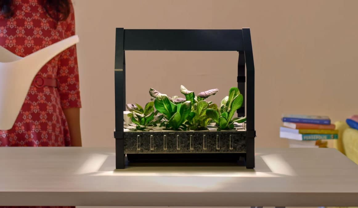 cultiva verduras en casa con ikea kit jard n hidrop nico
