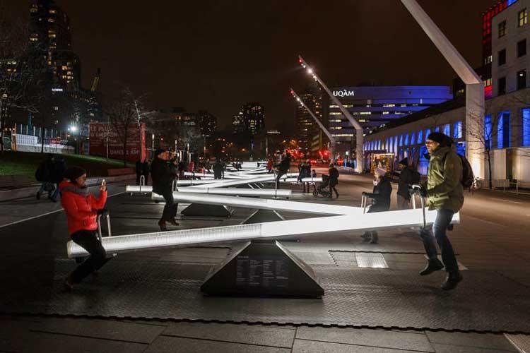 iluminacion urbana