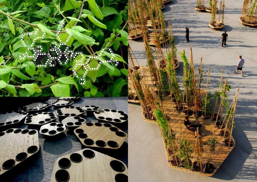 mobiliario verde urbano