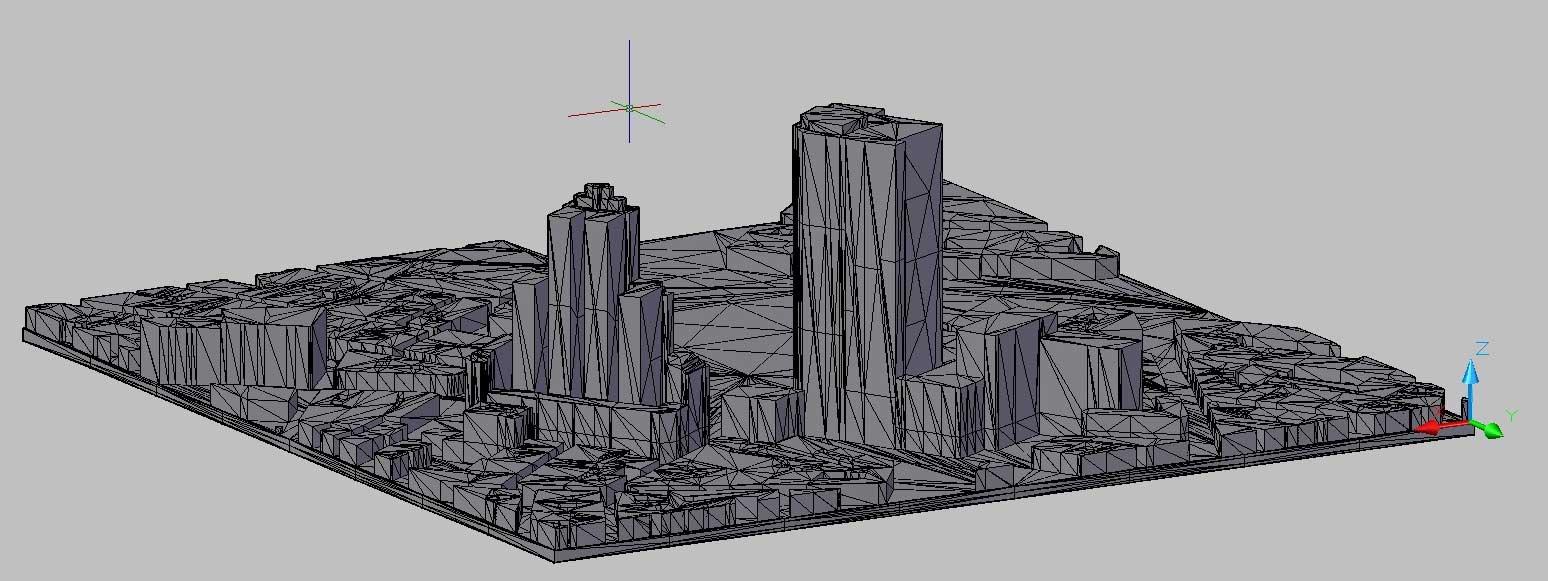 terreno topografico ciudad