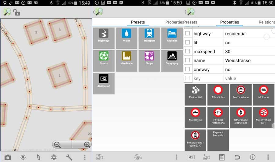app mapas