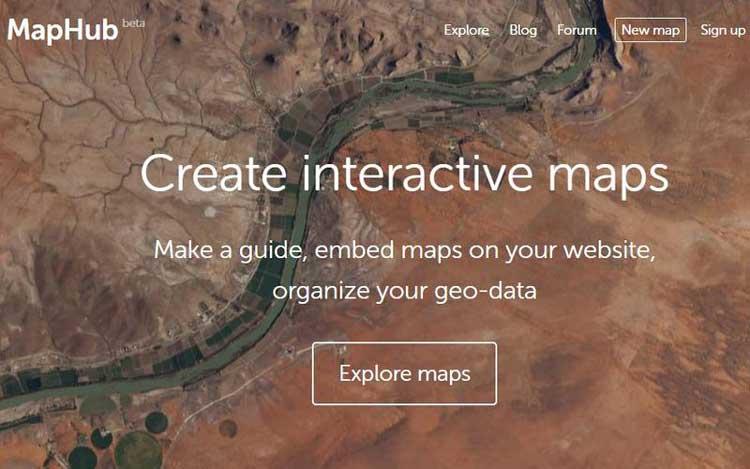 mapa mundial online