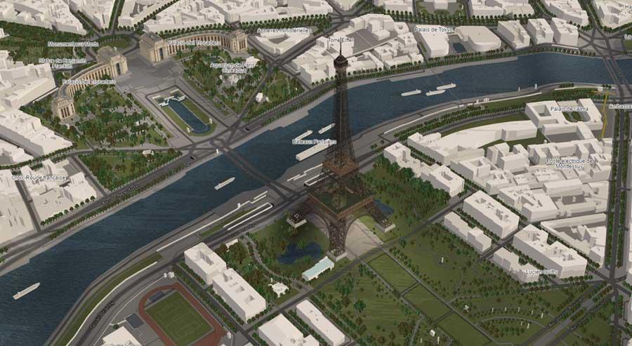 El mapa interactivo 3d de ciudades que sorprende ovacen for Programa para hacer edificios en 3d