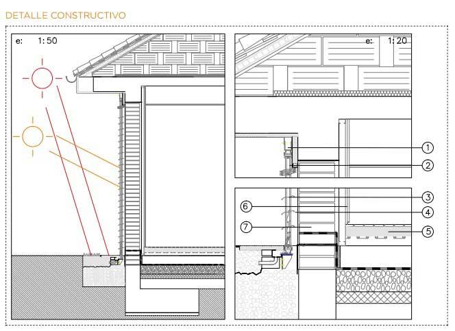 Las casas bioclim ticas 38 soluciones constructivas ovacen for Construccion de casas bioclimaticas