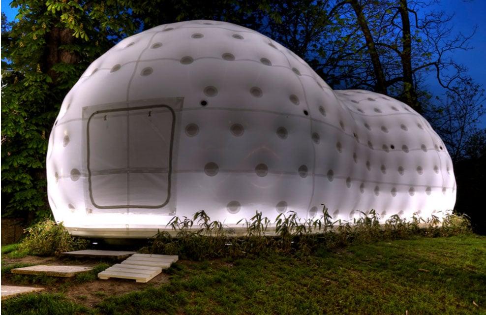 vivienda inflable