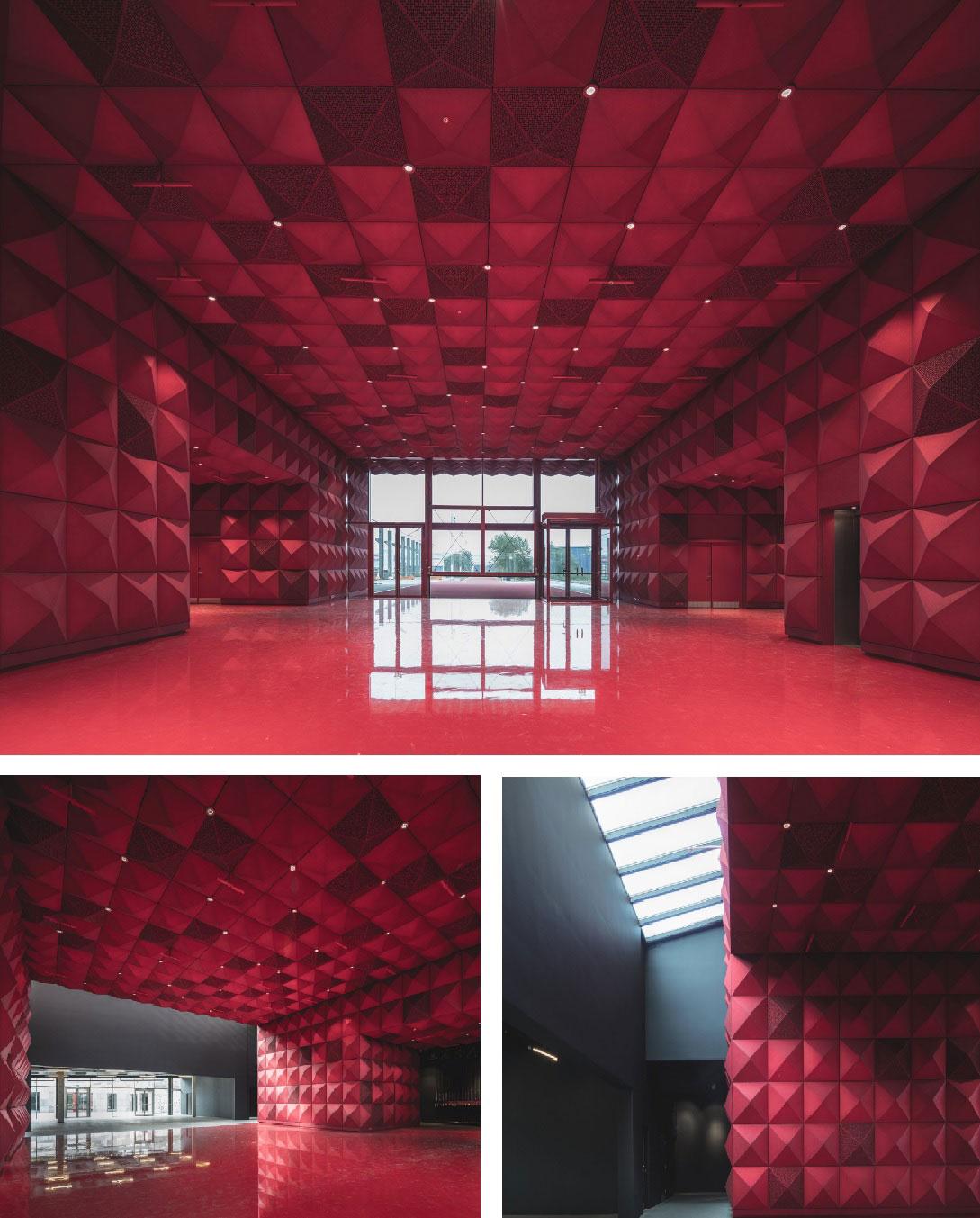 arquitectura rojo