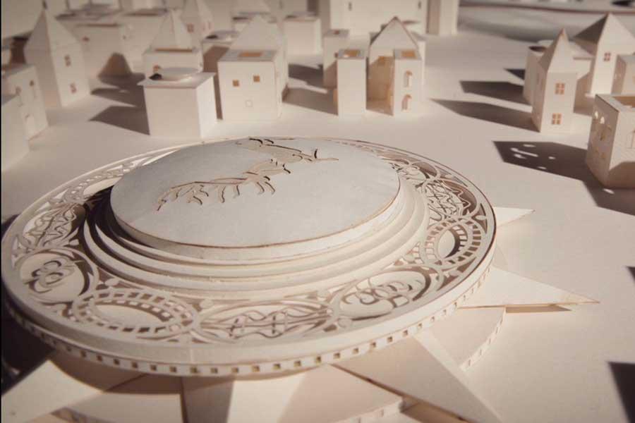 juego de trono arquitectura