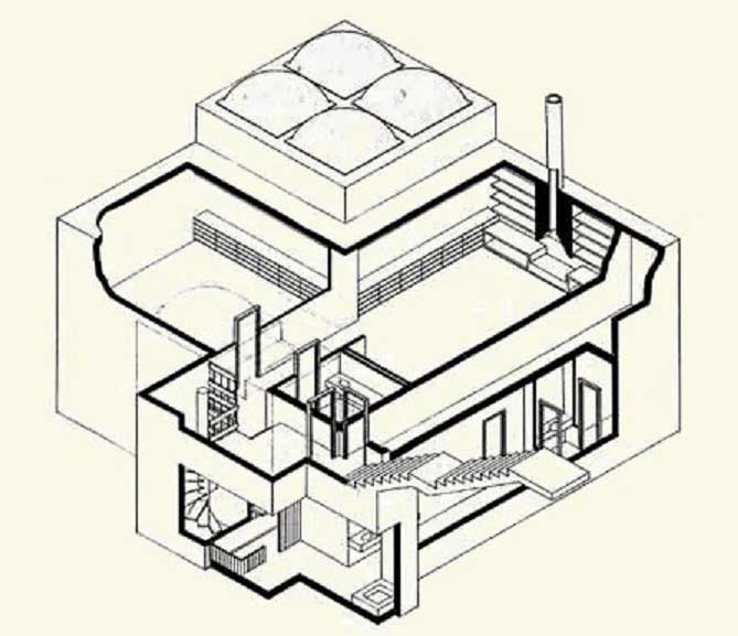 casa subterranea