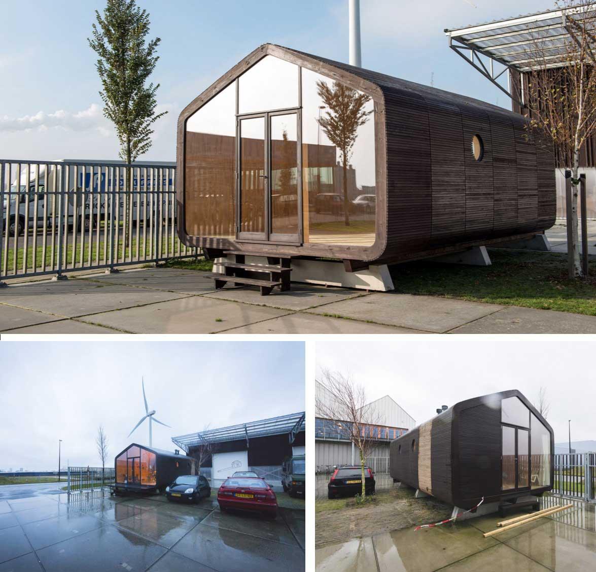 Las casas de cart n y su arquitectura ovacen - Modulos de casas ...