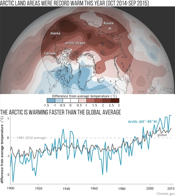cambio climatico artico