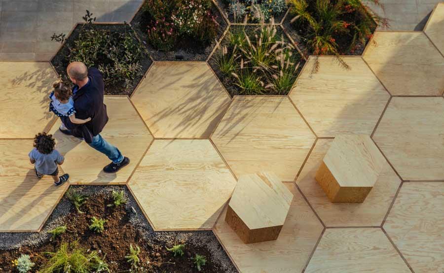 diseño jardin ciudad