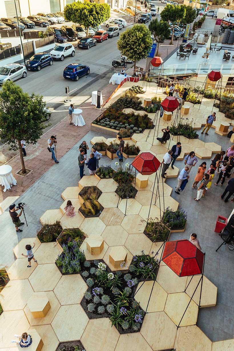 C mo el dise o de jardines modernos cambia ciudades ovacen - El jardin de los sentidos ...