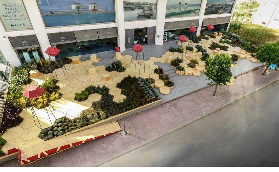 jardines urbanos en ciudades