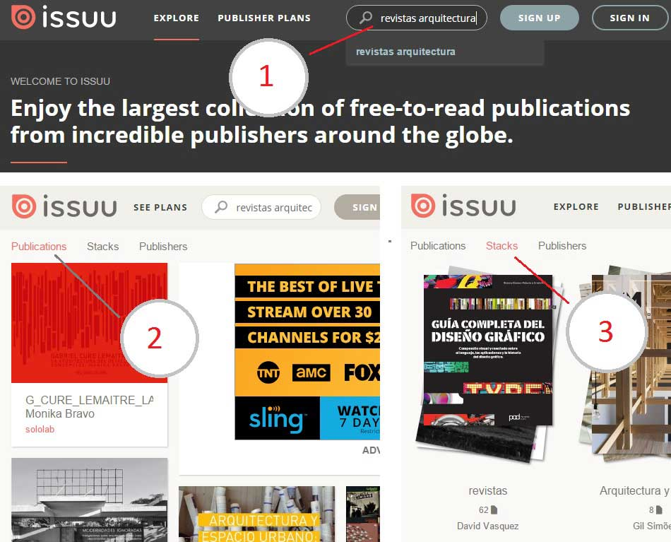 revistas gratis arquitectura