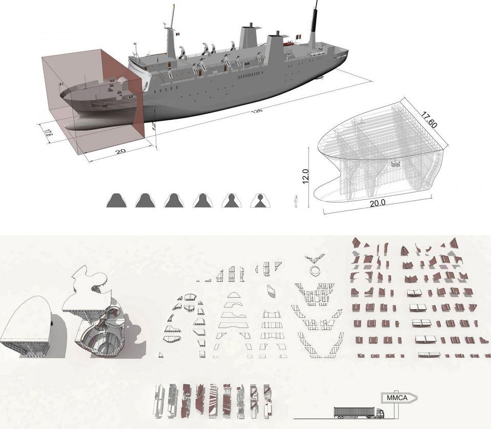 arquitectura barco