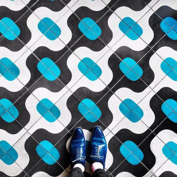 101 suelos de mosaicos y baldosas hidr ulicas ovacen for Precio mosaicos para exterior