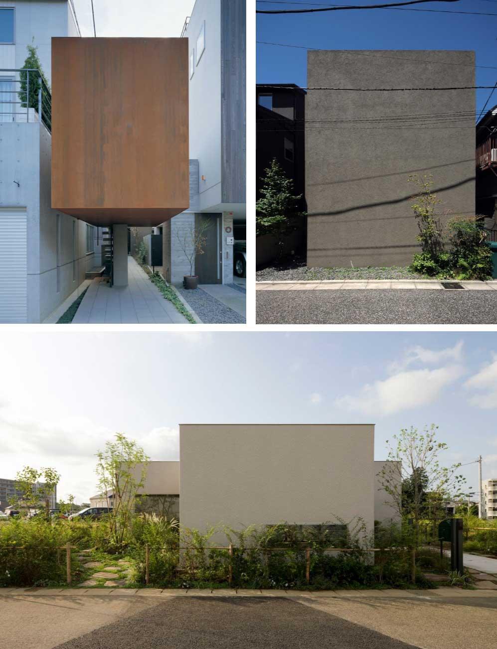 9 casas minimalistas con arquitectura y dise o de locos for Piedras para fachadas minimalistas