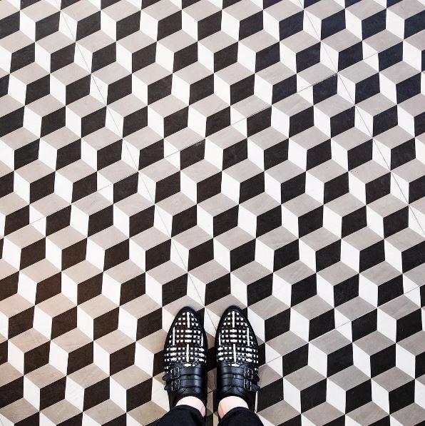 101 suelos de mosaicos y baldosas hidr ulicas ovacen - Tipos de baldosa ...