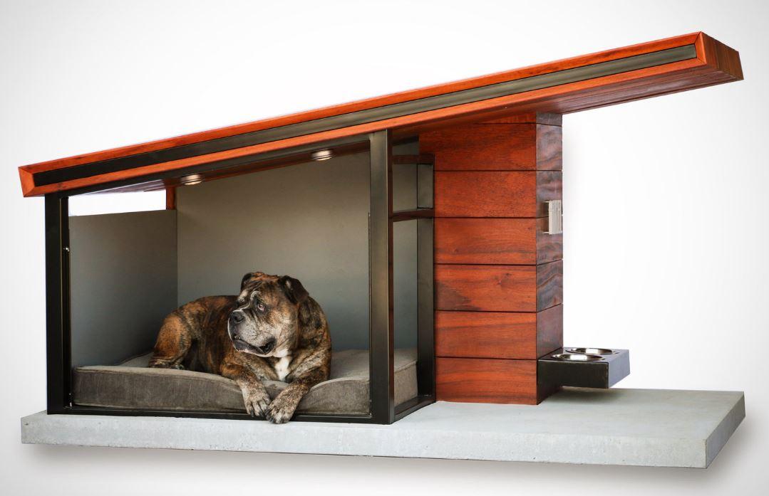 10 casas para perros con algo m s que madera y pl stico - Casa de perro grande ...