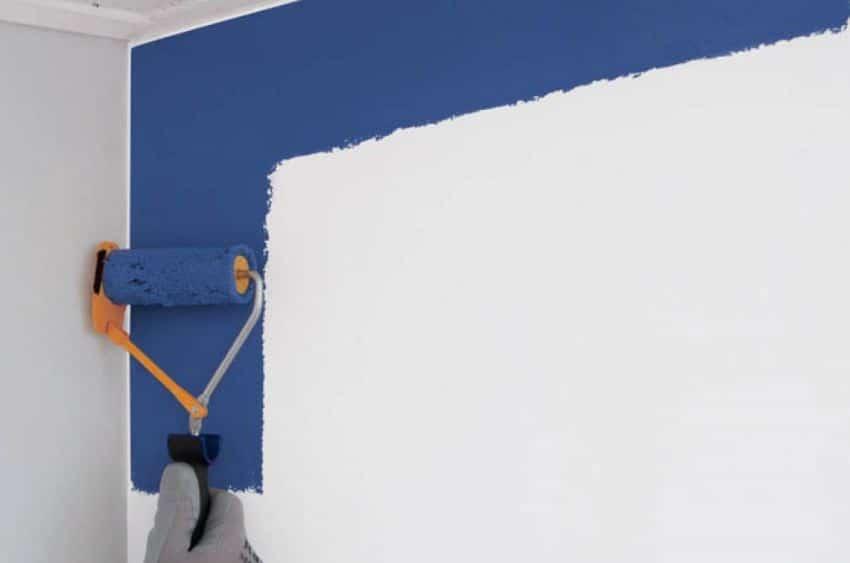 pintar paredes a rodillo