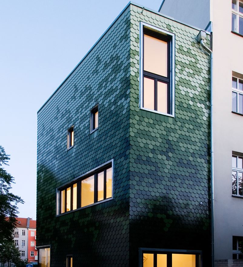 ventanas en fachada