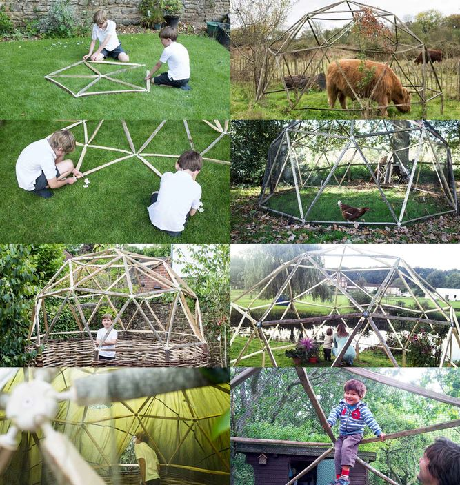 estructuras domos