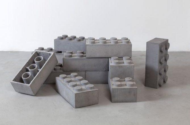 bloques como piezas de lego