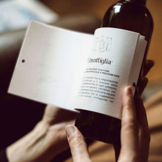 etiqueta botella vino