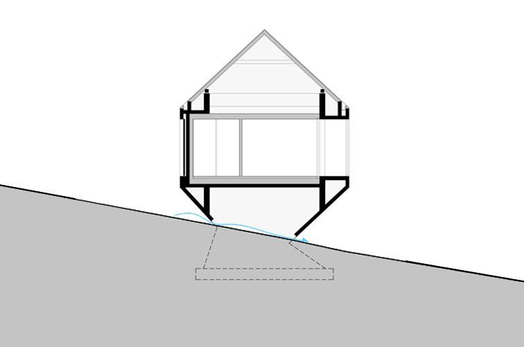 seccion arquitectura casa