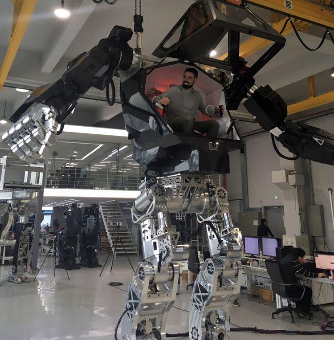 robot mecanizado