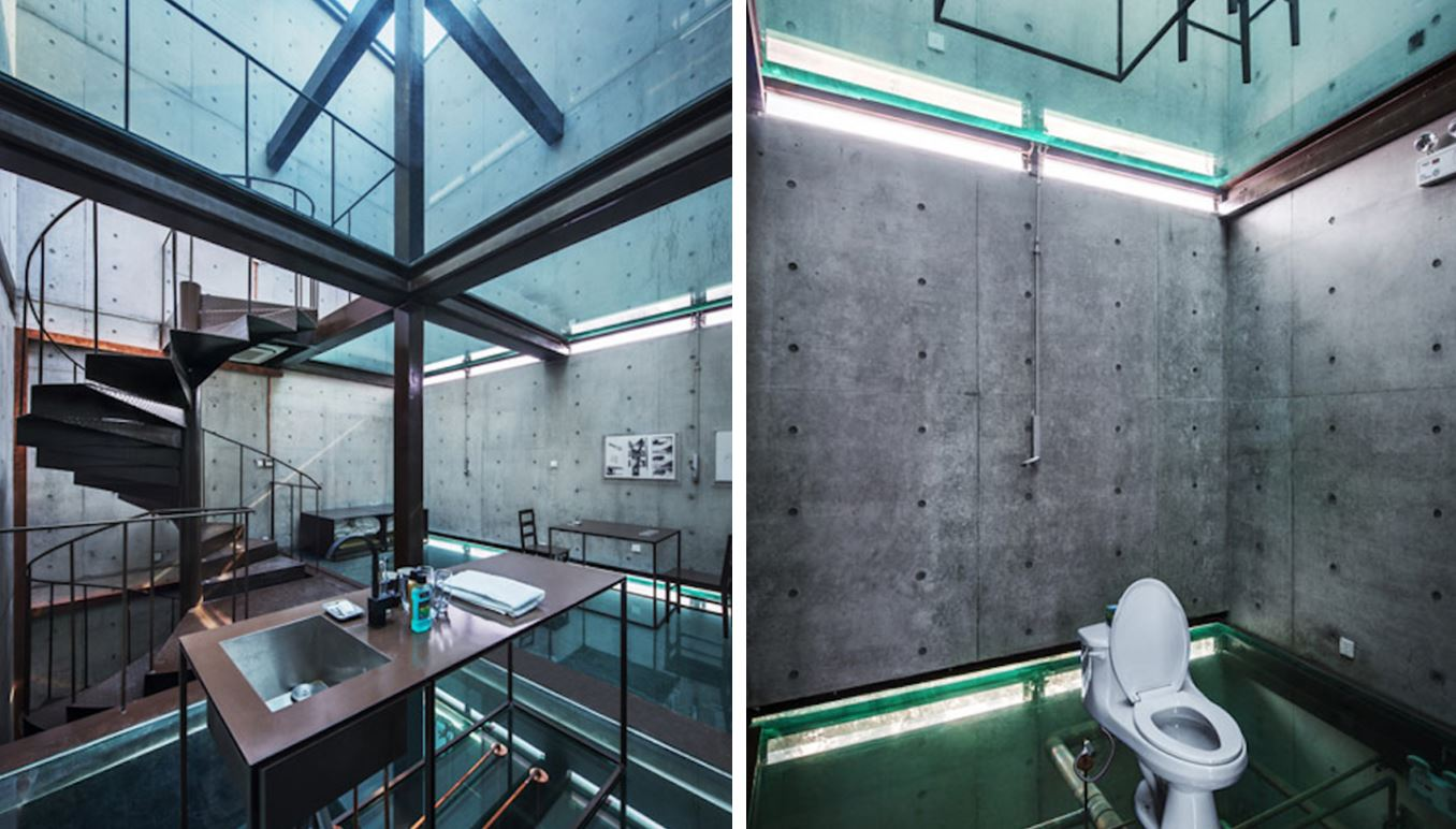 casa transparente